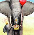 Birthday Elephant by Catherine G McElroy