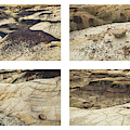 Bisti Badlands Quadtych by Alexander Kunz