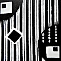 Black And White Pattern-7 by Katerina Stamatelos