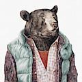 Black Bear Cyan by Animal Crew