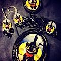 Black Cat Jewelry Hand Made by Kasey Jones