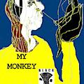 Black Ivory 2 Digital Pop Art 21 by Artist Dot