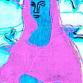 Black Ivory Mona Lisa 59 by Artist Dot