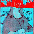 Black Ivory Mona Lisa 61 by Artist Dot