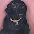 Black Lab by Karen Zuk Rosenblatt