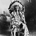 Blackfoot Chief by Hulton Collection