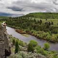 Blackfoot River by Leland D Howard