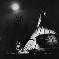 Blackfoot Smoking by Hulton Archive