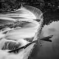 Blackstone River Vi   Bw by David Gordon
