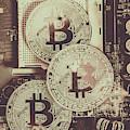 Blocks Of Bitcoin by Jorgo Photography - Wall Art Gallery