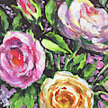 Blooming Colors Floral Impressionism  by Irina Sztukowski