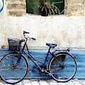 Blue Bike In Mahdia  by Angelika GAIGL