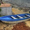 Blue Boat by Laura Hedien