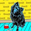 Blue Dog by Lou Novick