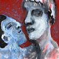 Blue Face by Edgeworth DotBlog