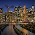 Blue Hour From Brooklyn by Kristen Wilkinson