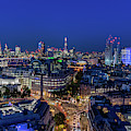 Blue Hour In London by Stewart Marsden