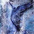 Blue Hummingbird by 'REA' Gallery
