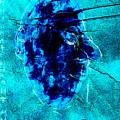 Blue Igor Stravinsky Almost Monocle by Artist Dot