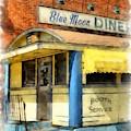 Blue Moon Diner  2 by Edward Fielding