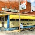 Blue Moon Diner  by Edward Fielding