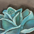 Blue Rose by Lisa Bunsey