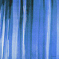 Blue Shower Curtain by Tom Janca