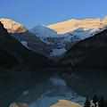 Blue Sky At Lake Louise by Paula Guttilla