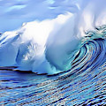 Blue Surf by Russ Carts