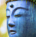 Blue Tone Buddha by Tim Gainey