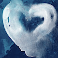 Blue Valentine- Art By Linda Woods by Linda Woods
