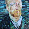 Blue Van Gogh by Karla Clark