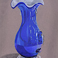 Blue Vase by Elizabeth Beach