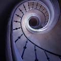 Blueberry Spiral Staircase by Jaroslaw Blaminsky