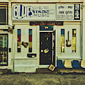 Blues Town Music Store by Mountain Dreams