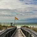 Boardwalk To The Beach by Mel Steinhauer