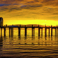 Boat House Old Pier by Garry Gay