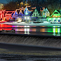 Boathouse Row Pa by Susan Candelario