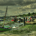 Boats At Leigh On Sea  by Rob Hawkins
