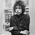 Bob Dylan 1966 by Express Newspapers