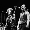 Bob Dylan Performs With U2 In Concert by George Rose