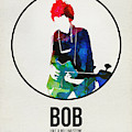 Bob Dylan Watercolor by Naxart Studio