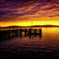 Bodega Bay Gorgeous Sunset by Garry Gay