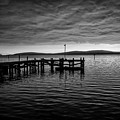 Bodgea Bay Black And White by Garry Gay