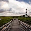 Bodie Island Walkway by Pete Federico