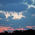 Bold And Colorful Clouds by Cynthia Guinn