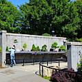 Bonsai Garden At North Carolina Arboretum by Jill Lang