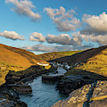 Boscastle Harbour, Cornwall by David Ross