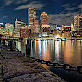 Boston At Blue Hour by Jesse MacDonald