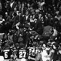 Boston Bruins V New York Fans by B Bennett
